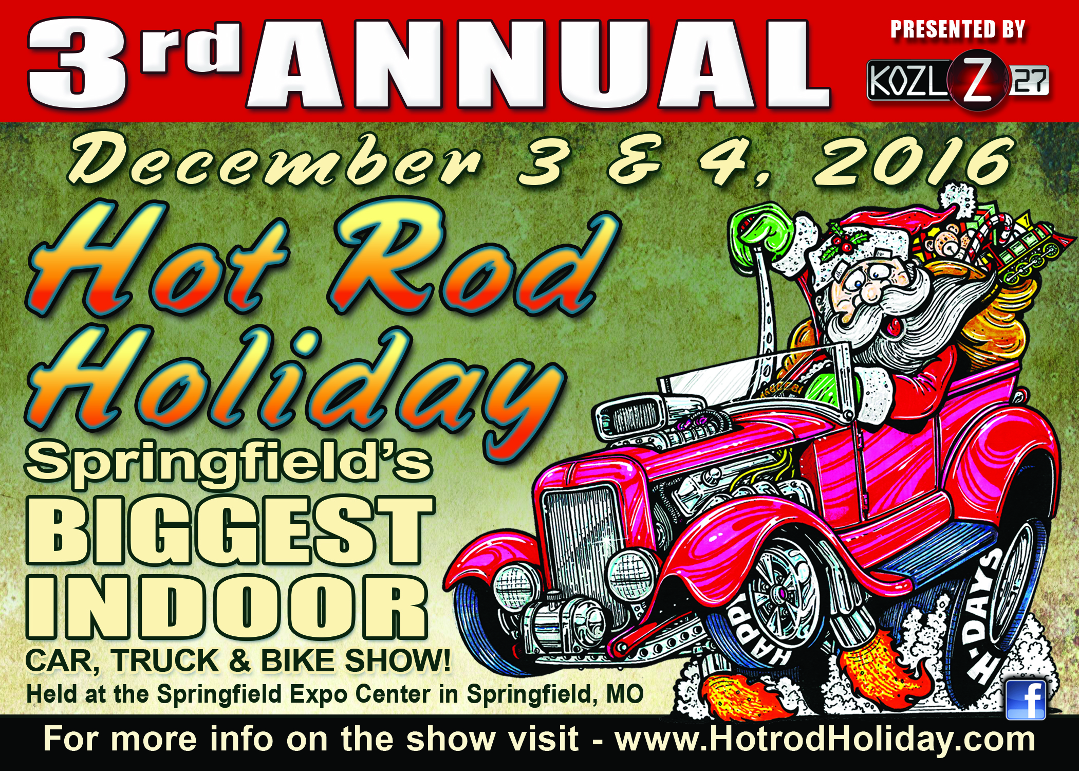 hot rod holiday 2016 promo